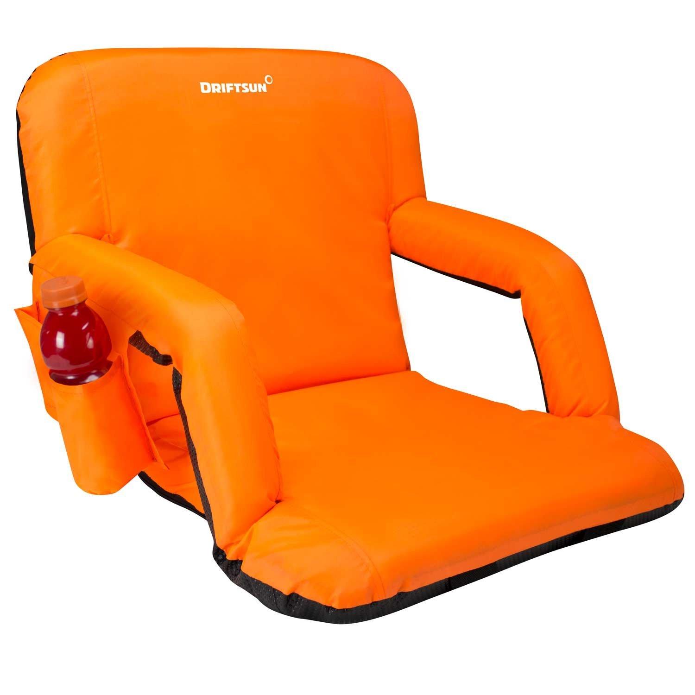 Get Quotations · Driftsun Stadium Seat Reclining Bleacher Chair Folding with Back / Sport Chair Reclines Perfect For Bleachers  sc 1 st  Alibaba & Cheap Stadium Bleacher Seats find Stadium Bleacher Seats deals on ...