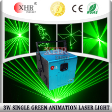 3 watt green/red/blue animation laser light,stage lighting ilda laser for logo projection