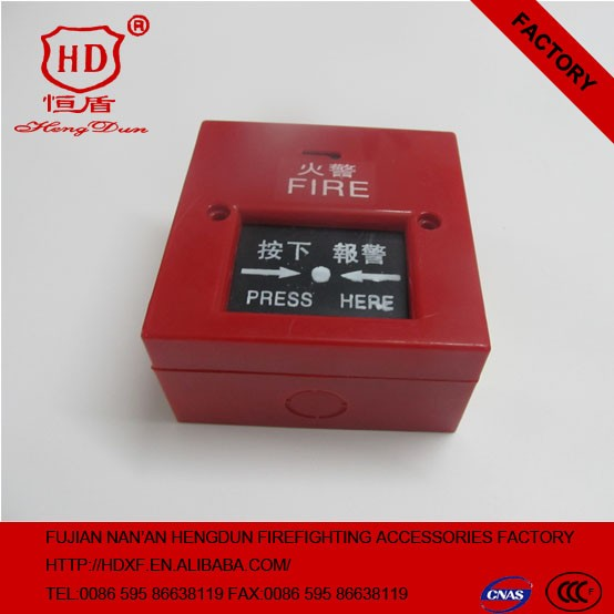 2016 Fireproof Fire Alarm System Conventional Manual Call Point, Push button
