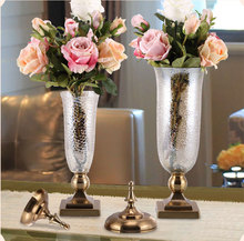 High quality wedding centerpiece decoration cylinder tall glass vases for wholesale