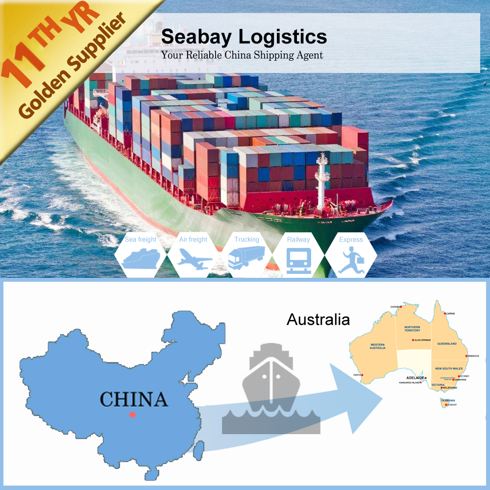 Competitive sea cargo freight forwarder from Shanghai to Sydney