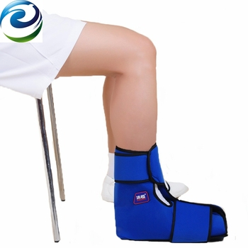 Gel Cold Pack Foot Ankle Brace for Pain Relief Therapy