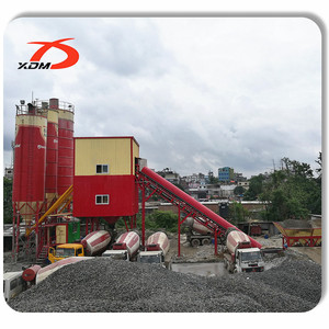 HZS Series Wet Mix Concrete Batch Plant HZS120 for Sale