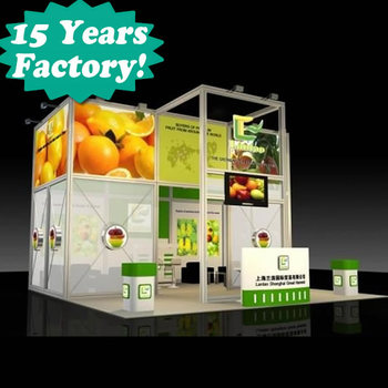 2018 Wonderful Easy To Assemble Trade Fair Custom Exhibition Stands