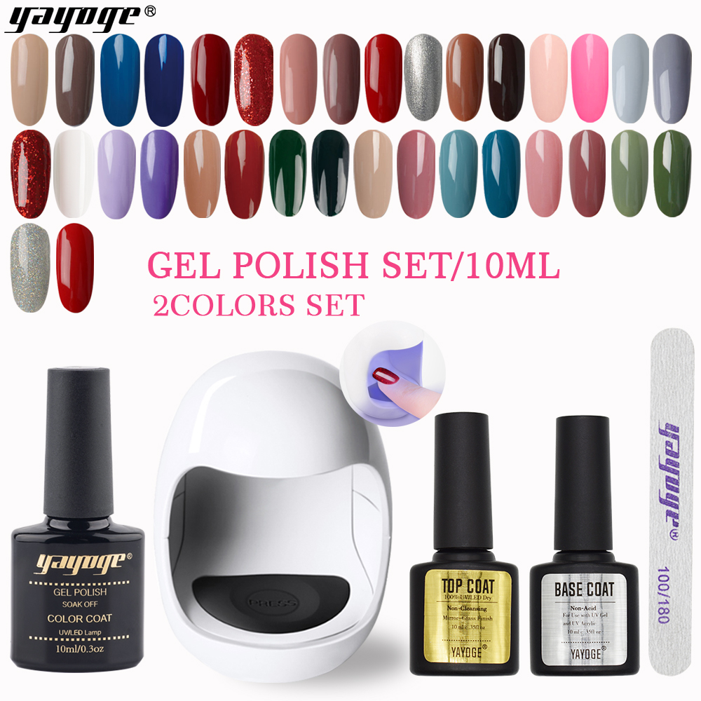 Private Label OEM cheap Nail Shops prefer UV nail gel polish 10 ml Starter Kit gift Sets Factory Price