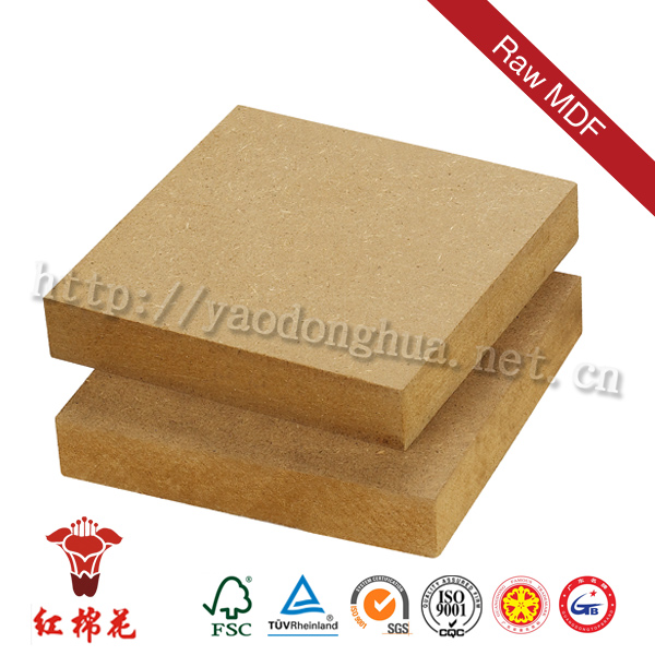 Low price flame retardant mdf board 2.5mm 3mm 5mm