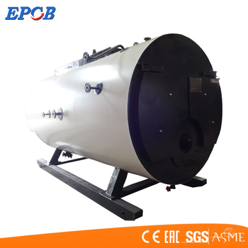 Epcb Best Boiler Horizontal Type Gas And Oil Fired For Textile