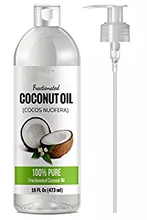 Fractionated Coconut Oil Skin Moisturizer - Natural & Pure Carrier Oil Massage Oil Skin Moisturizer Therapeutic Odorless - for S