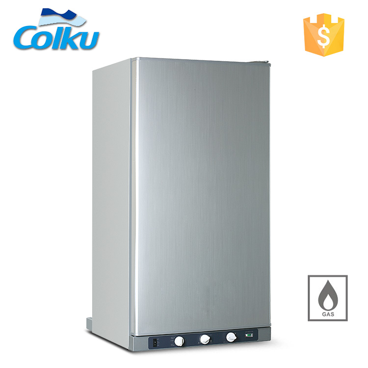 3 Way Absorption Upright 100L 143L kitchen natural lpg gas refrigerator