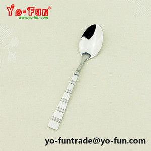 JAY014 Poland design small mini portable jar stainless steel sugar spoon