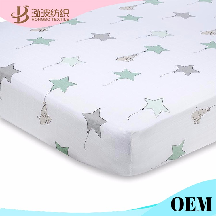 2015 SUMMER New born baby products Organic crib sheets