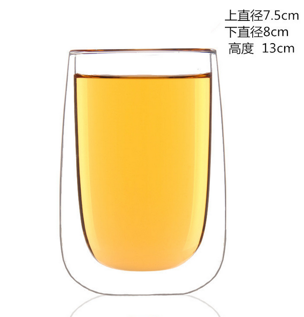 Double Wall Whiskey Glass Set/Scotch Cocktail Glasses/Manhattan Style with Reduced Condensation/Dishwasher Safe,Insulated Glassw