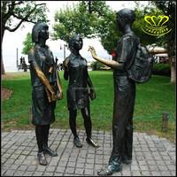 Western Art Bronze Copper Sculpture