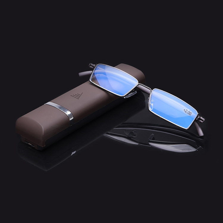 2020 DC Optical Hot Sale Computer Reader Blue Light Blocking Computer Glasses Reading Glasses Eyeglasses with TR90 Half Rim