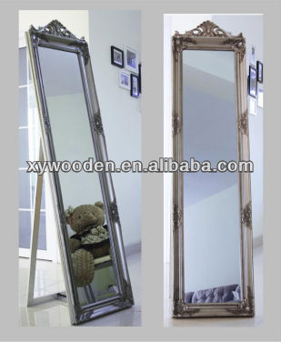 ORNATE LARGE MIRRO CARVED FRAME BEVELLED MIRROR