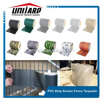 Pvc Sichtschutz Streifen Zaunfolie Doppelstabmatten Zaun Folie Buy