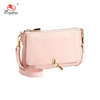 USA market hot sell baby pink clutch bag shoulder purse mini girl