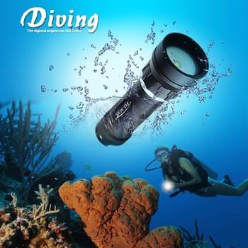 Hi-max X8 Underwater Video Dive Torch Led Dive Light