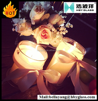 wholesale white candle pillar candle,ceo gifts,candle,candles,glass jar Storage Bottles & Jars Type
