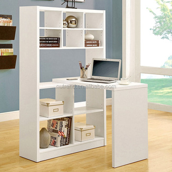 Large size diy wood bookcase with study table design buy for Diy study table design
