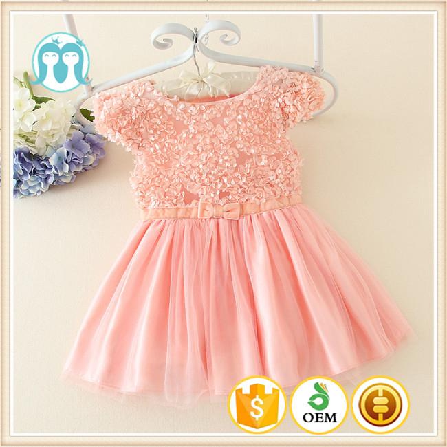Flor Encantadora Casual Niña Vestidos India Para Un Año Vestidos De ...