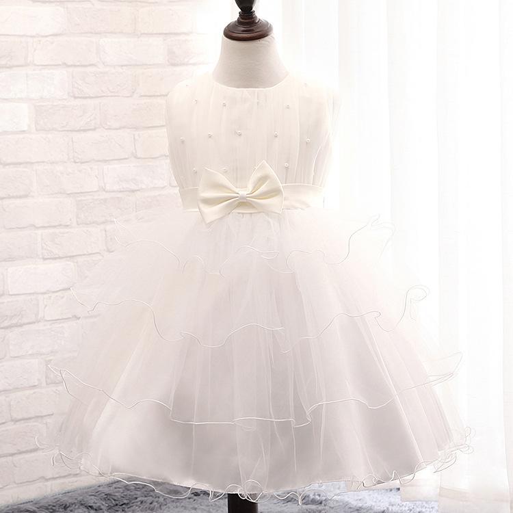 2e2677d4978 Get Quotations · 2015 new Korean flower beaded gauze dress girls dress  children dress princess bow a generation of