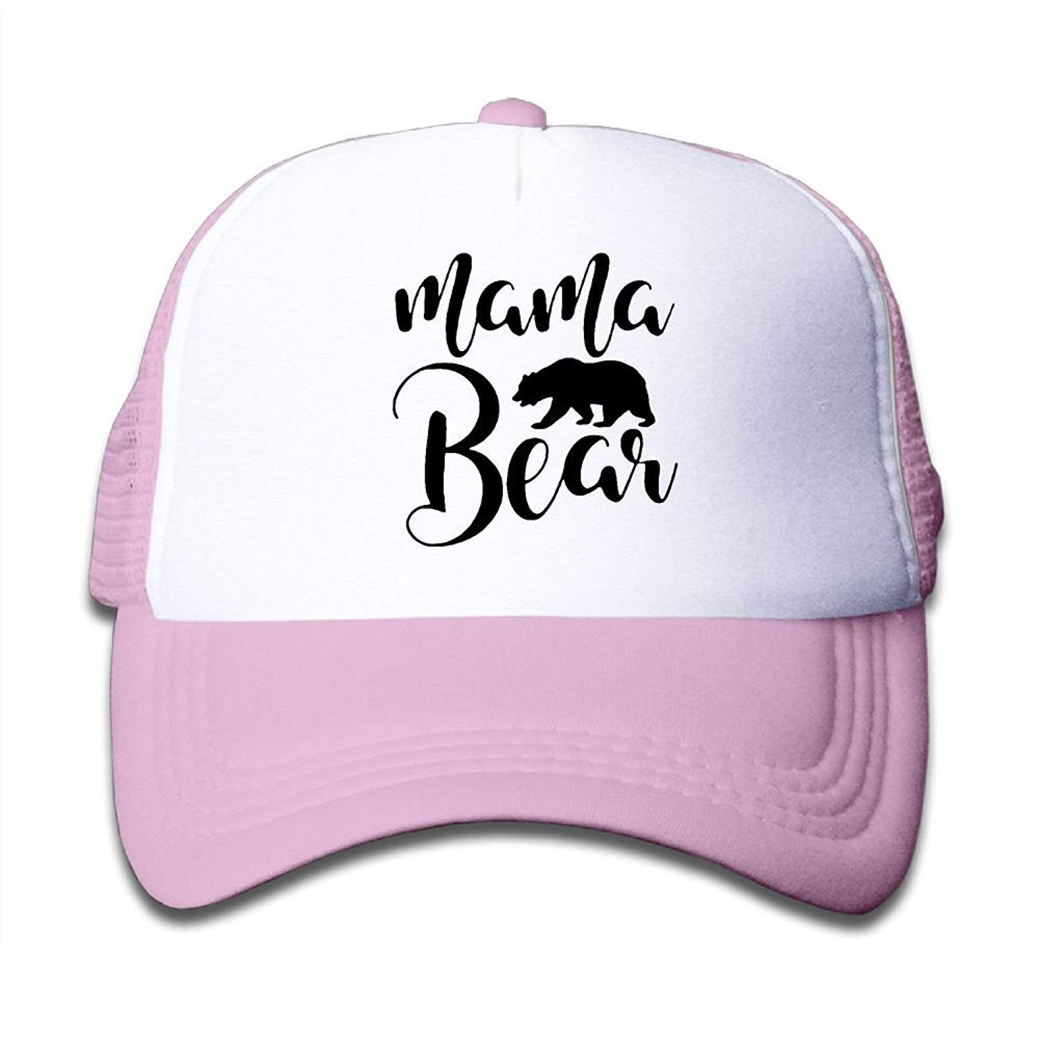 1bb63ef6fb4 Get Quotations · BOYGIRL-CAP Mama Bear Kids Toddler Boys Girls Adjustable  Mesh Cap Baseball Caps Trucker Hat