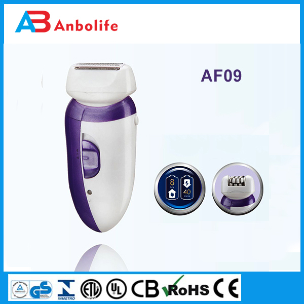 Anbo wholesale low price electronic facial hair shaver lady epilator