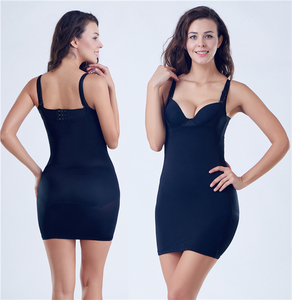 Full body slip dress shaper tube dress tight no line body slimming shapewear