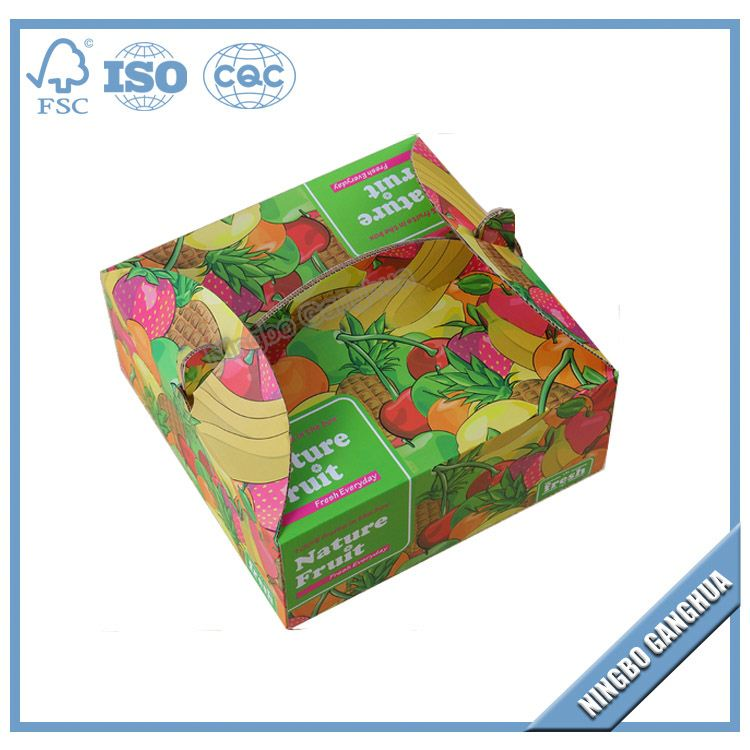 High quality printed flat pack folding paper box,paper box 20cm,thick paper packing box