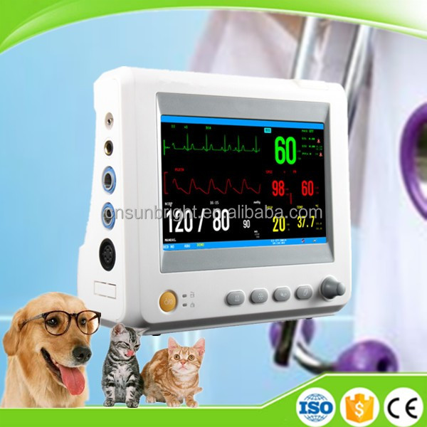 Mainstream/Sidestream ETCO2 Patient Monitor for Veterinary Use