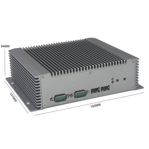 intel celeron 1037u dual core mini pc embedded barebone system fanless computer with wifi COM serial ports