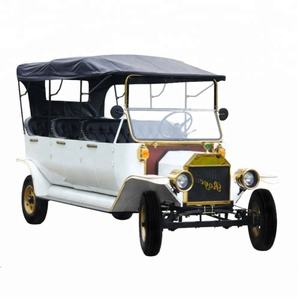 Unique 8 passenger vintage CE approved antique model t 5KW electric car