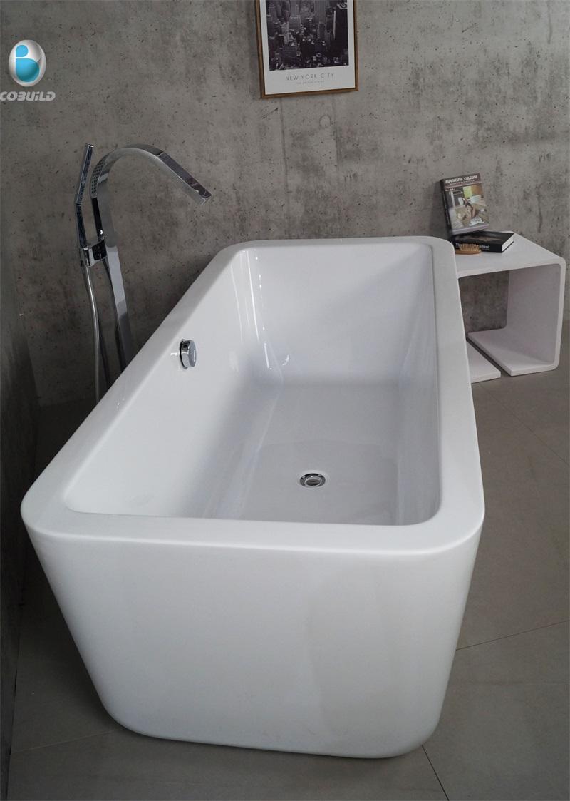 Euro Stil 67 Rechteck Installation Typ Oben Boden Badewanne Mit