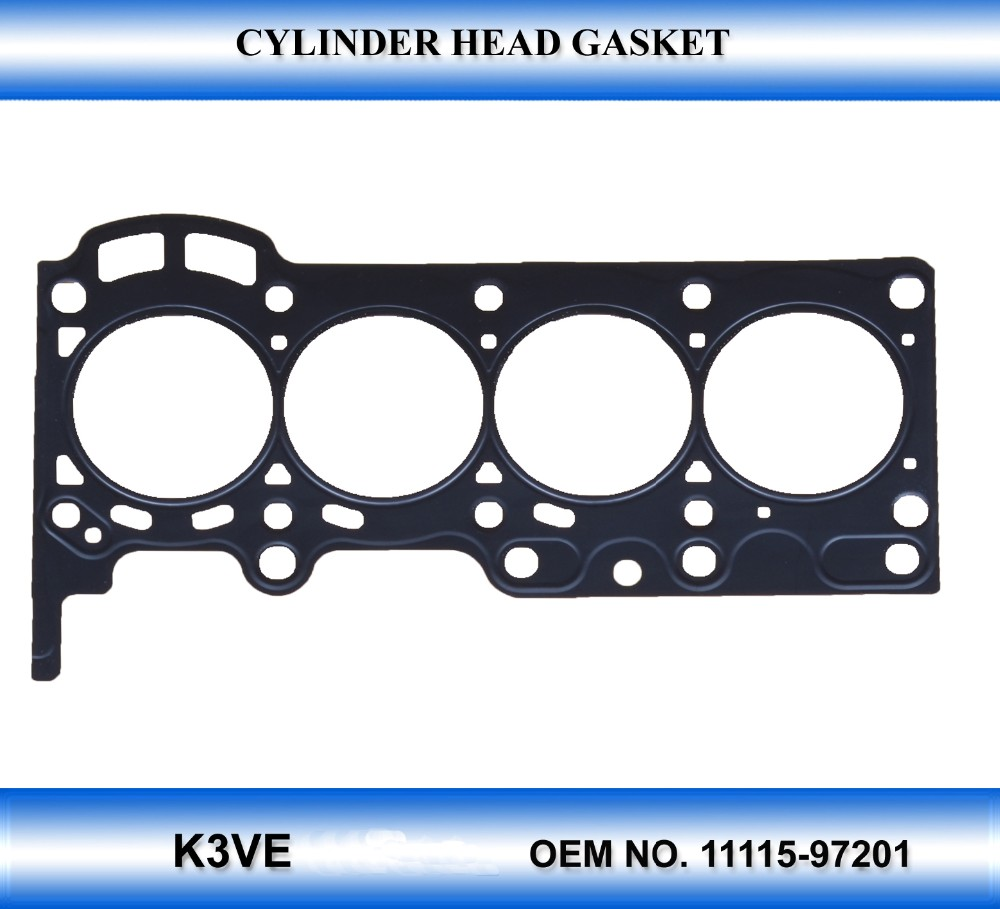 Motor Engine Parts K3-ve 11115-97201 Engine Head Gasket Material ...