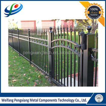 Powder Coated Black Aluminum Fence Gate China Supplier In Alibaba ...