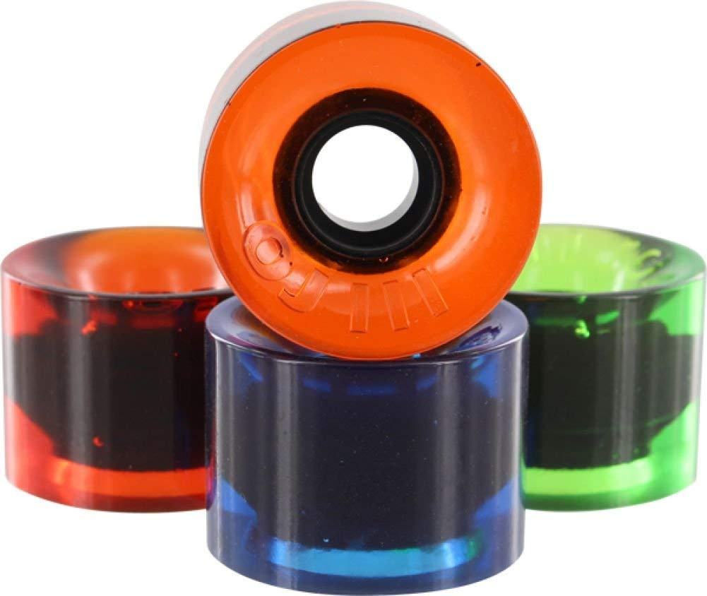 OJ Wheels Hot Juice Candy Trans Combo Skateboard Wheels - 60mm 78a (Set of 4)
