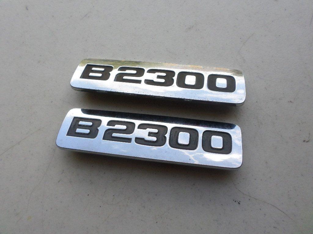 Cheap B2300 Mazda Find Deals On Line At Alibabacom 1998 B2500 Engine Get Quotations 94 98 Side Door Fender Emblem F47b 16b114 Ab Logo Nameplate