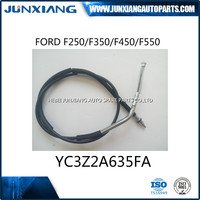 high quality auto parts control hand brake cable OE YC3Z2A635FA for FO-RD truck car