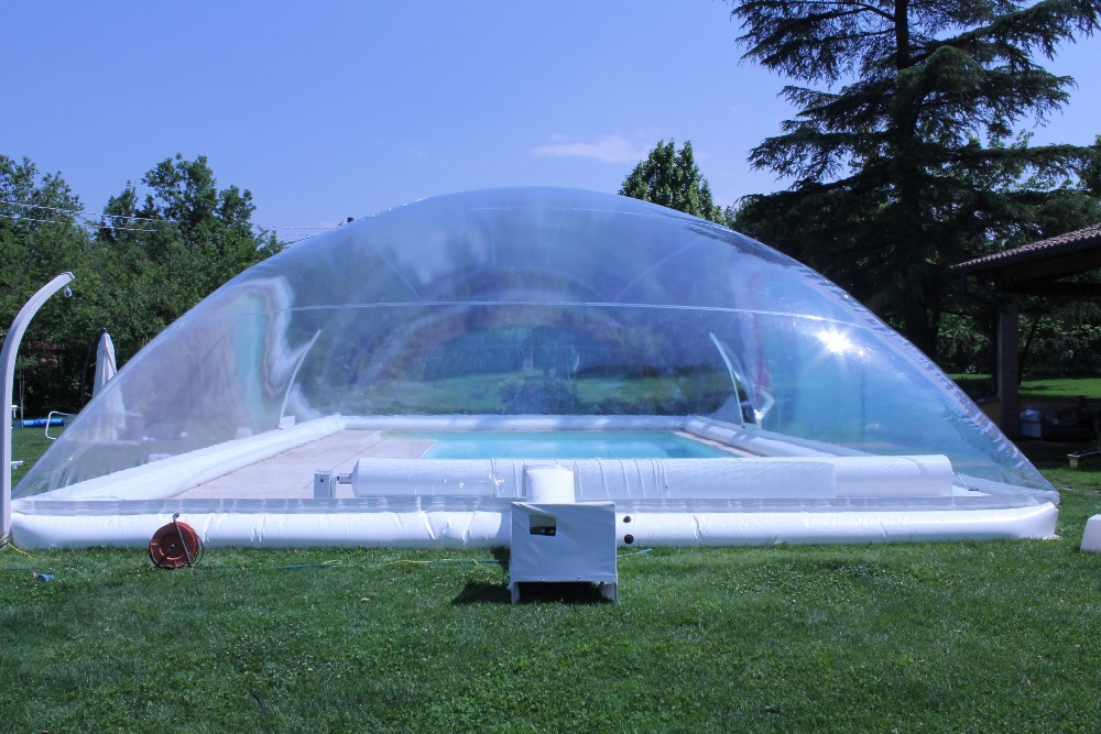 New Design Inflatable Pools Cover,inflatable Transparent Pool Dome Tent For  Outdoor