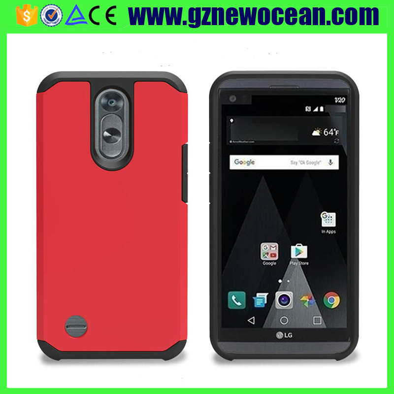 Hot selling Hard PC + TPU dual layers Shockproof Armor phone case for LG K20V K20 Plus LV5