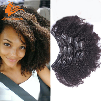 Afro kinky curly clip in hair extensions remy brazilian kinky hair afro kinky curly clip in hair extensions remy brazilian kinky hair 7ps clip hair extension for pmusecretfo Choice Image