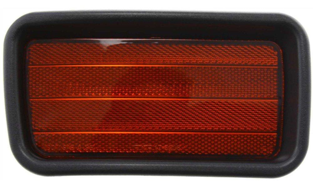 Evan-Fischer EVA23972029908 Bumper Reflector Rear Driver Side LH Lamp Light
