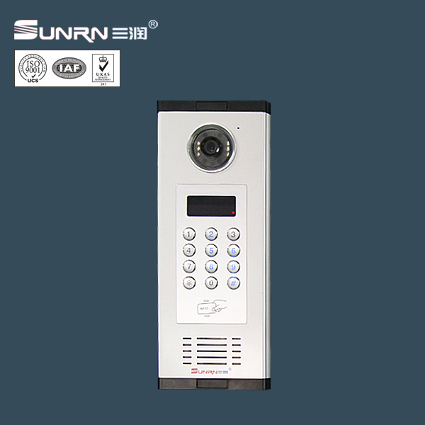 "7"" Analog Multi apartment video door phone intercom system video intercom system for apartments"