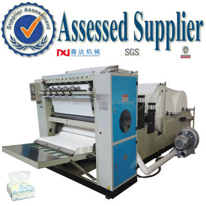 Automatic fold facial tissue factory machine equipment manufacturer