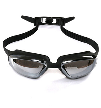 Anti uv and fog mirror coating swimming goggles
