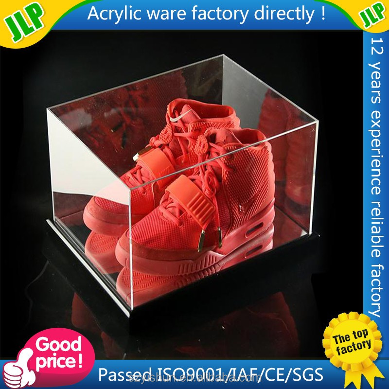 giant acrylic storage shoe box for sport shoes
