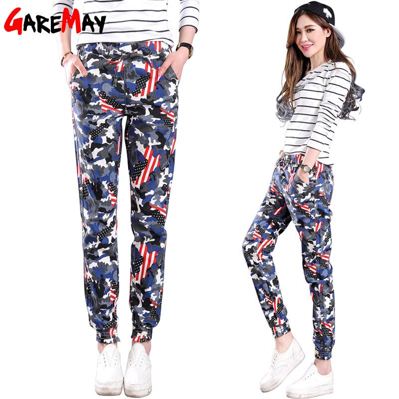 garemay womens camouflage pants fashion pantalon femme. Black Bedroom Furniture Sets. Home Design Ideas