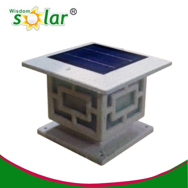 18% saved solar pillar light compare to others on sale