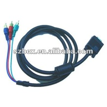 VGA to 3 RCA(RGB) Splitter cable
